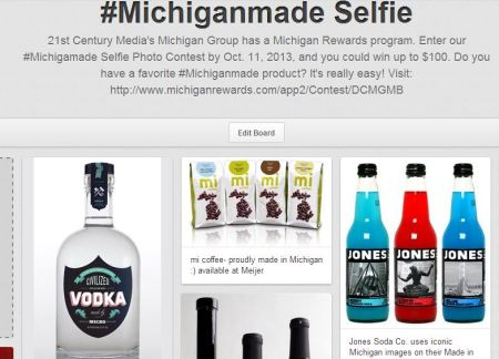 Check out my #Michiganmade board on Pinterest